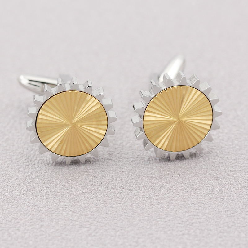 Cufflinks Cruach Dhosmálta Shining Cufflinks Shirt Lips 18K Gold
